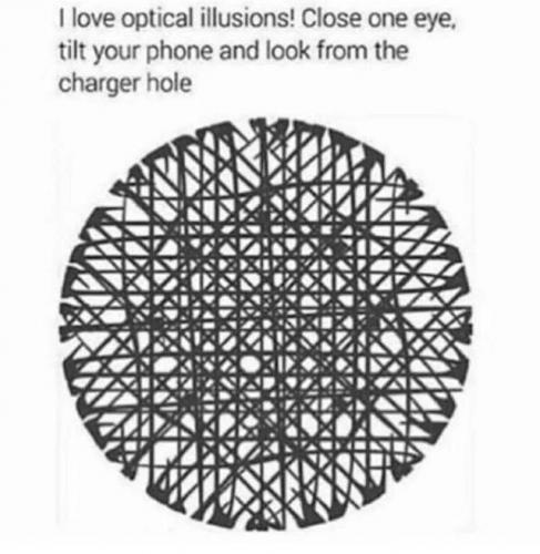 If you love optical Illusion, this is for you. 😉