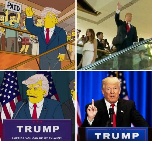Trumps Presidency was predicted in 2000 by the Simpsons | Is there something we don't know?
