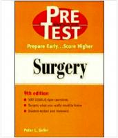 Pretest USMLE step 2 - Surgery 9th edition prepare early...score higher (2001).pdf