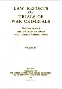Law Reports of TRIAL OF WAR CRIMINALS.pdf