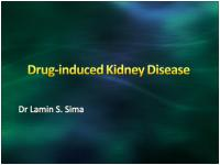 Drug induced Kidney Disease by Dr Lamin Sima.ppt