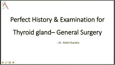 Thyroid cases for Clinical exams (Perfect History & Examination) - Great for General Surgery Short case exams.mp4