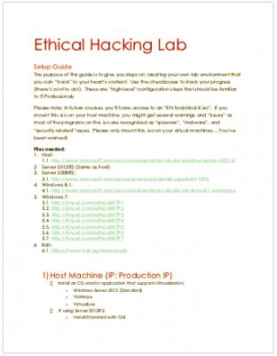 Ethical Hacking Lab - The Setup guide.pdf