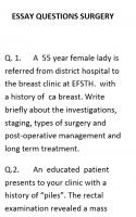 ESSAY QUESTIONS SURGERY.doc