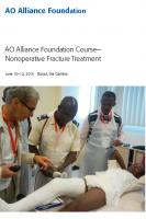 AO Alliance Foundation Course - Nonoperative Fracture Treatment.pdf