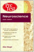 Pretest - Neuroscience sixth edition by Allan Siegel.pdf