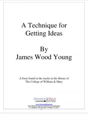 A technique for getting ideas - james wood young.pdf