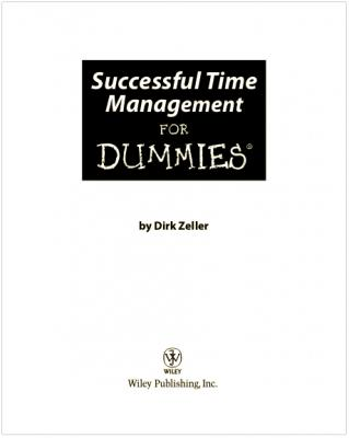 Successful Time Management For Dummies.pdf
