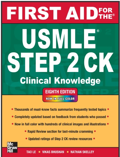 First Aid for the USMLE Step 2 CK (Clinical Knowledge) - Eight (8th) Edition.pdf