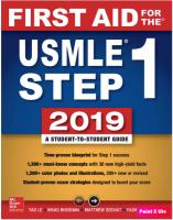 First Aid for the USMLE Step 1 2019.pdf